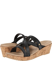 Crocs - A-Leigh Shimmer Leather Mini Wedge