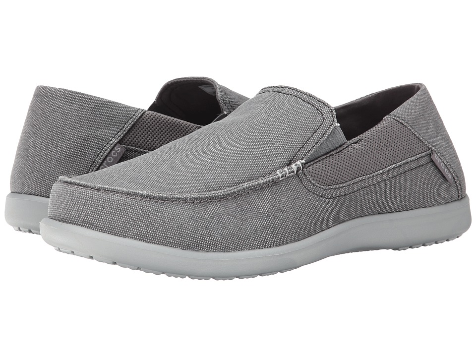 Crocs - Santa Cruz 2 Luxe (Charcoal/Light Grey) Men