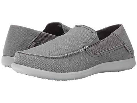 Crocs Santa Cruz 2 Luxe Charcoal Light Grey Zappos Com