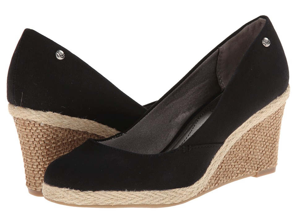 LifeStride Clementine Black 1 Womens Wedge Shoes