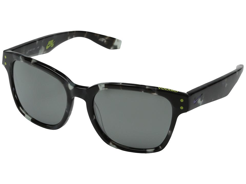 Nike - Volano (Grey Tortoise/Hyper Grape) Fashion Sunglasses