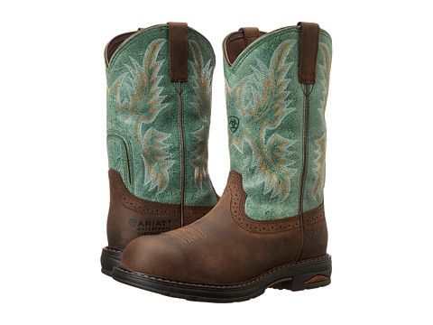 Ariat Tracey Pull-On H20 - Oily Distressed Brown/Turquoise