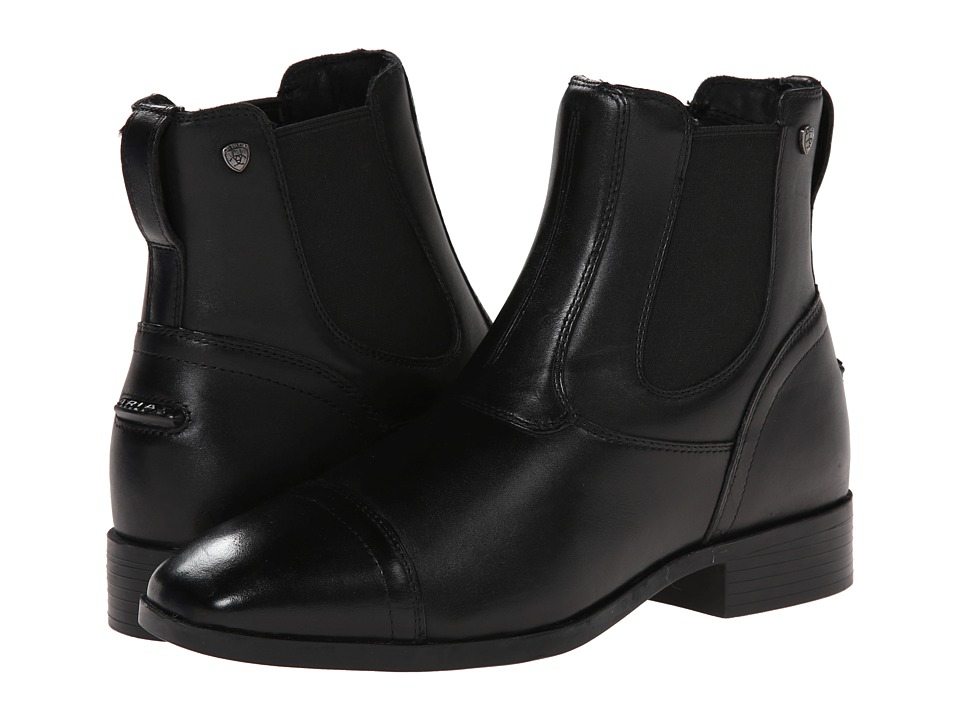 Ariat - Challenge Square Toe Dress Paddock (Black) Women