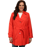 Via Spiga - Plus Size Single Breasted Scarpa Coat