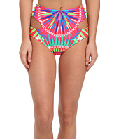 Mara Hoffman - Reversible Cutout High-Waist Bottom