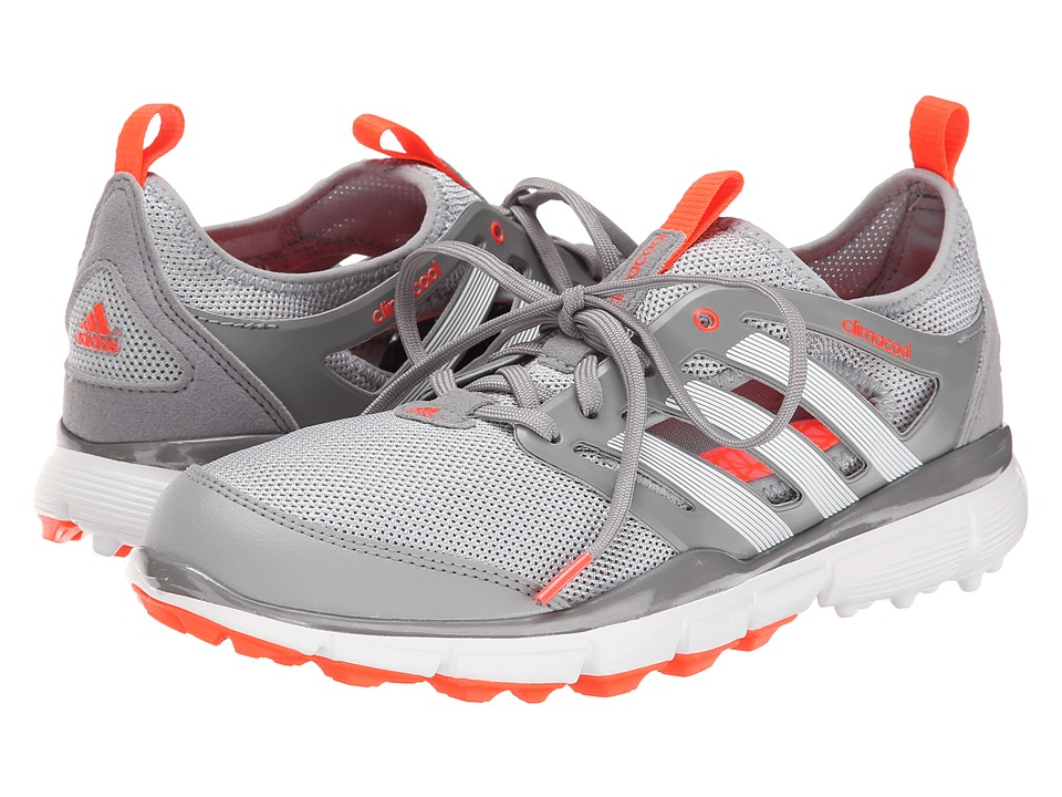adidas Golf Climacool II Clear Onix/Running White/Solar Red Womens Golf Shoes