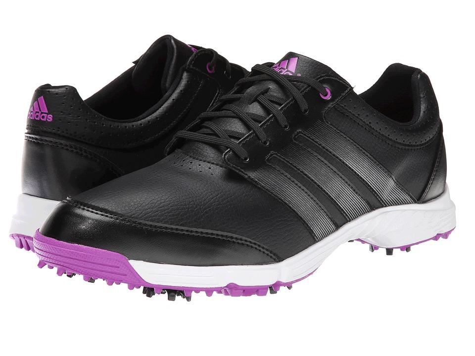 adidas Golf Response Light Core Black/Iron Metallic/Flash Pink Womens Golf Shoes