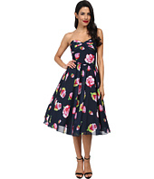 Unique Vintage - Floral Chiffon Dandridge Dress