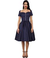 Unique Vintage Rhapsody Sleeved Swing Dress $148.00