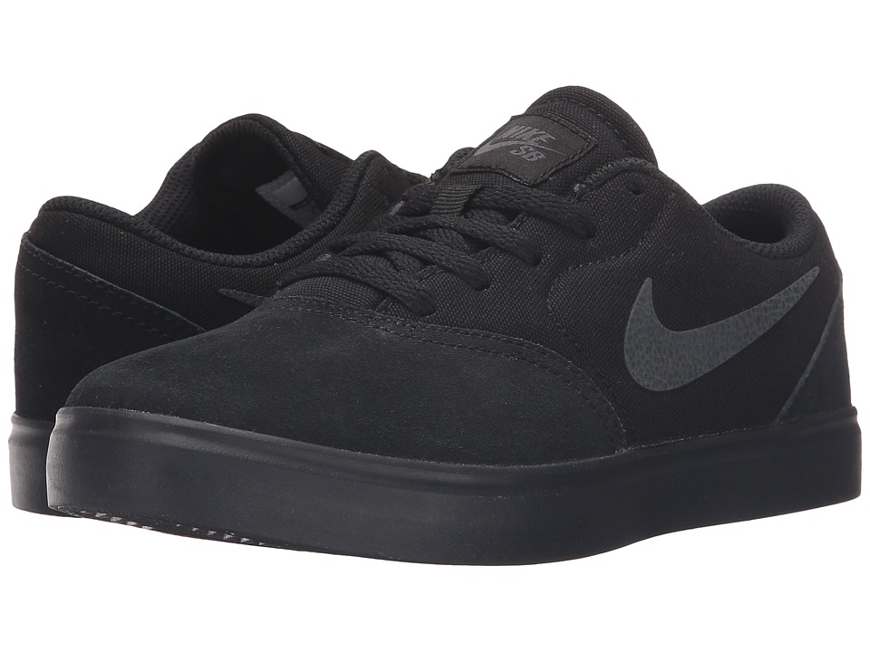Nike SB Kids SB Check Little Kid Black/Anthracite Boys Shoes
