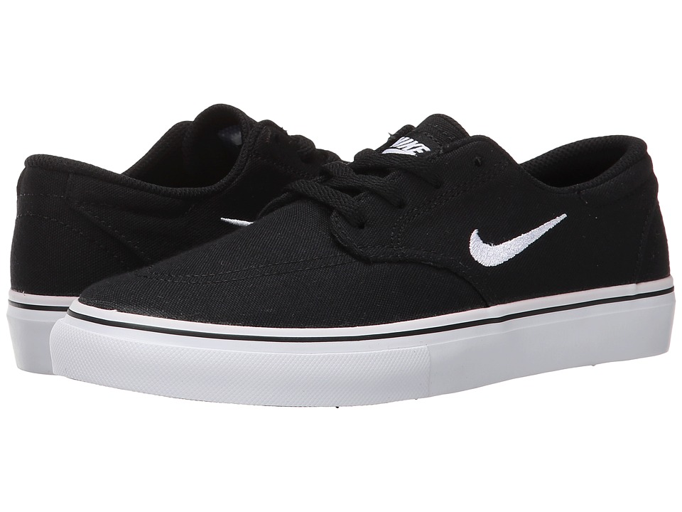 Nike SB Kids SB Clutch Little Kid Black/White Boys Shoes
