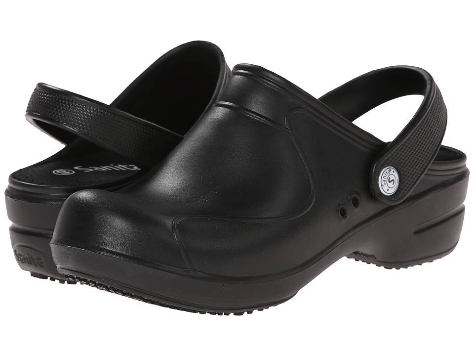 Sanita Aero Stride Black Womens Shoes