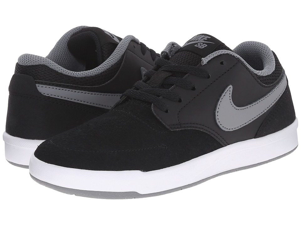 Nike SB Kids SB Fokus Big Kid Black/White/Cool Grey Boys Shoes
