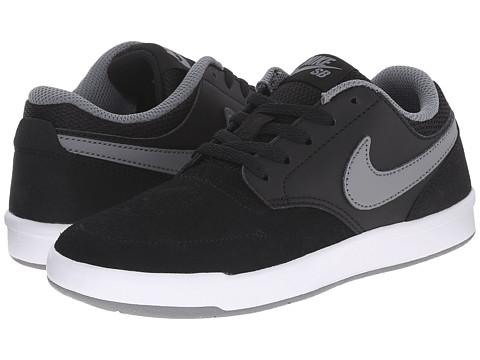 Nike SB Kids SB Fokus (Big Kid) - Black/White/Cool Grey