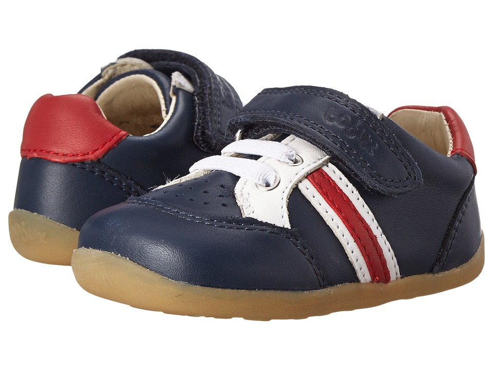 Bobux Kids - Step Up Trackside Sports (Infant/Toddler) (Navy) Boys Shoes