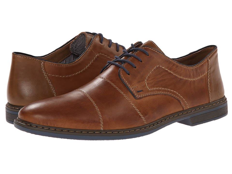 Rieker 13421 Diego 21 Toffee/Navy/Zimt Mens Shoes