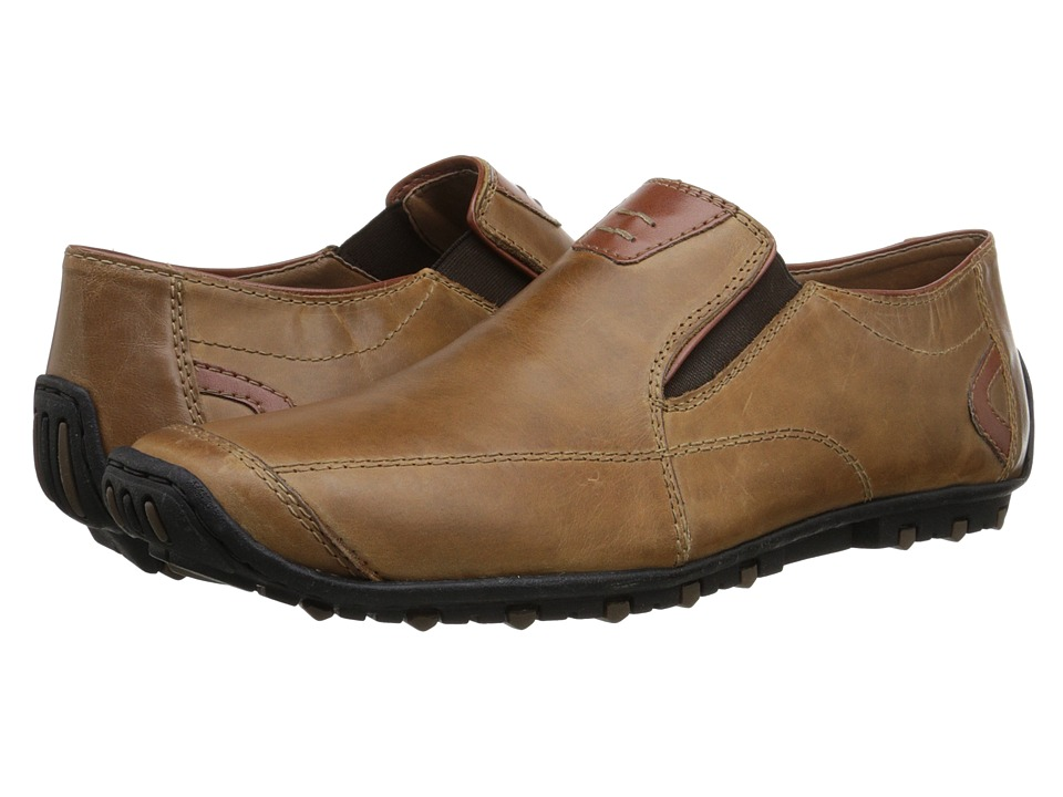 Rieker 08990 Garrit 90 Toffee/Whisky Mens Shoes