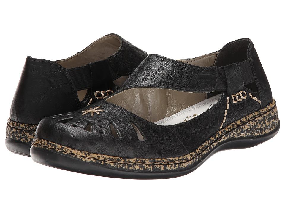 Rieker 46315 Daisy 15 (Black) Women's Shoes