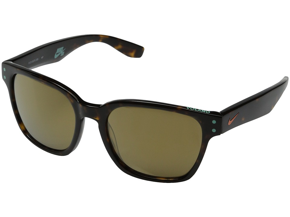 Nike - Volano R (Tortoise/Copper Flash) Fashion Sunglasses