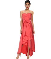 Adrianna Papell - Strapless High Lo Taffeta Ball Gown