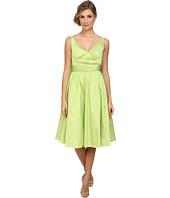 Adrianna Papell - Sleeveless Mid Length Taffeta Party Dress