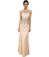 Adrianna Papell - Halter Fully Beaded Gown