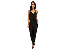 Donna Morgan CDC Wrap Jumpsuit (Black)
