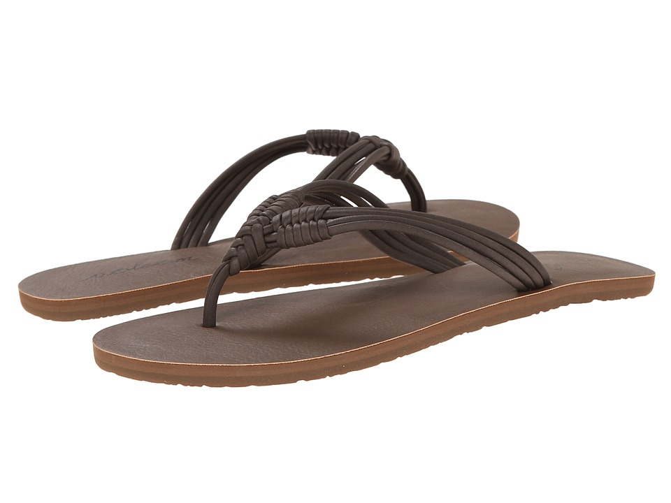 Volcom - Have Fun 2 (Brown) Womens Sandals