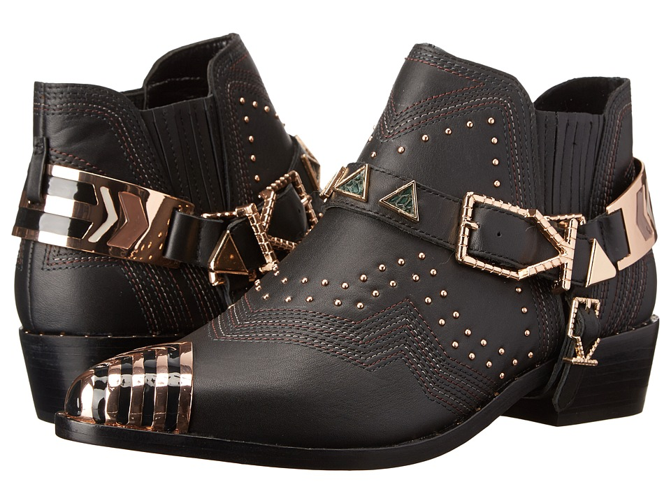 IVY KIRZHNER Santa Fe Black Womens Shoes