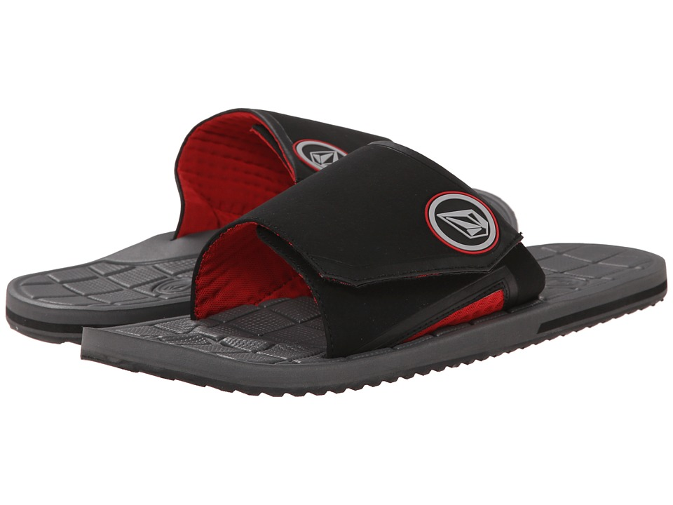 Volcom - Stryker Slide (Charcoal) Men
