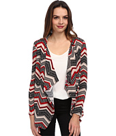 Brigitte Bailey - Breana Chevron Print Cardigan