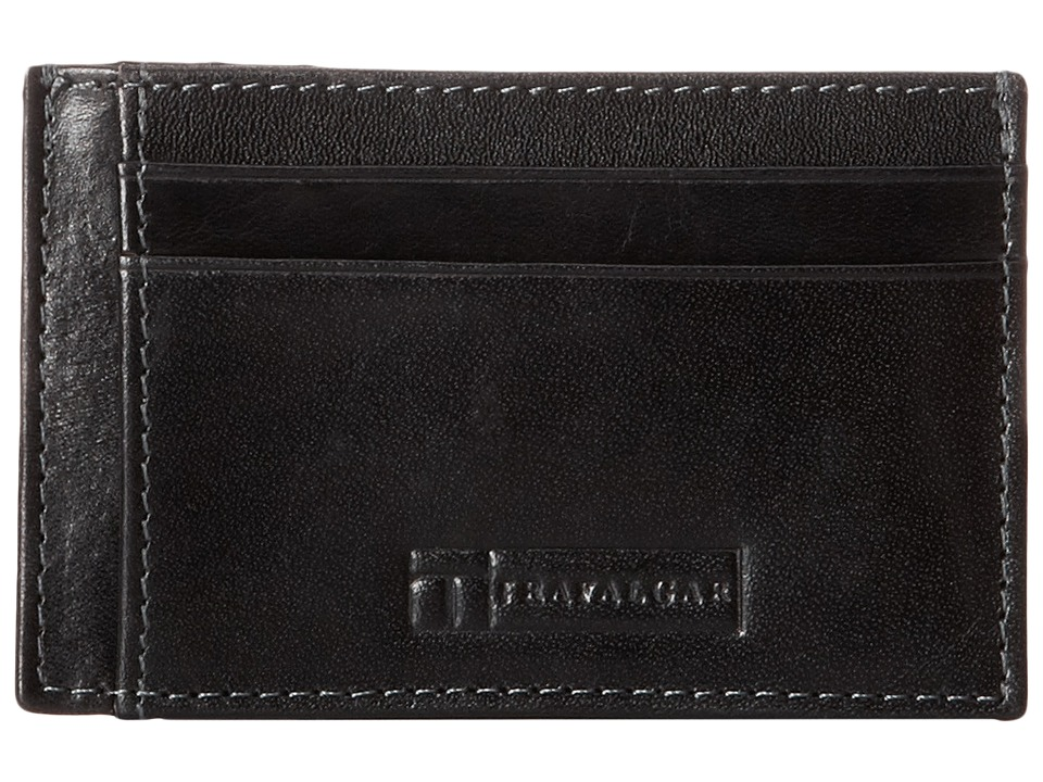Trafalgar - Cortina Card Case (Black) Credit card Wallet