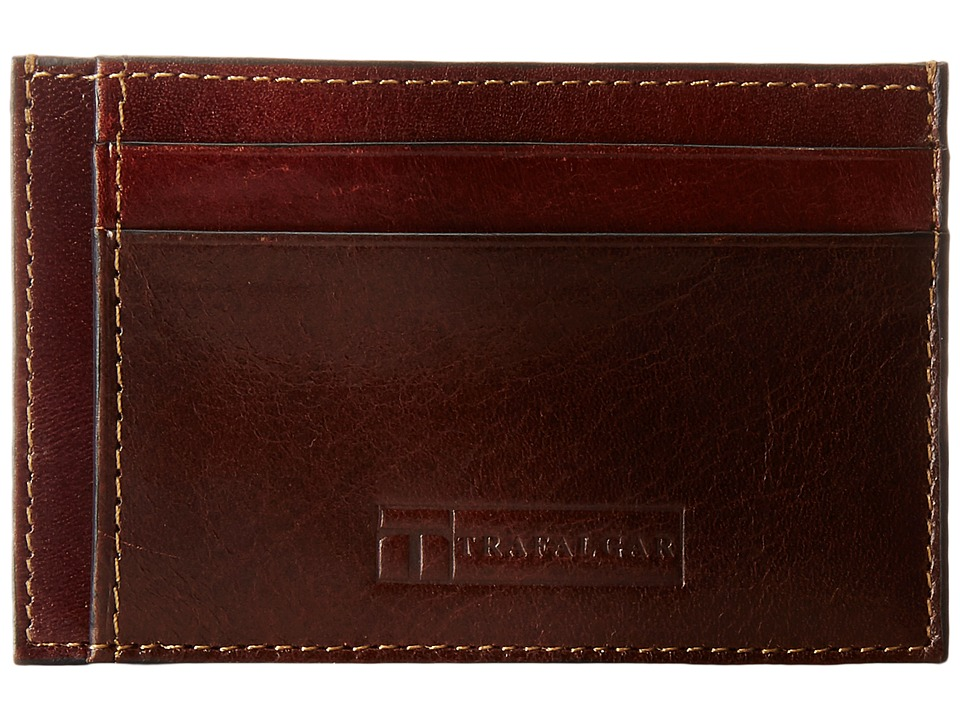 Trafalgar - Cortina Card Case (Honey Maple) Credit card Wallet
