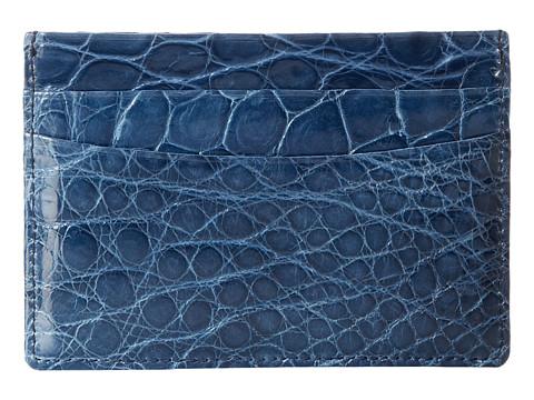 Trafalgar American Alligator Case - Blue
