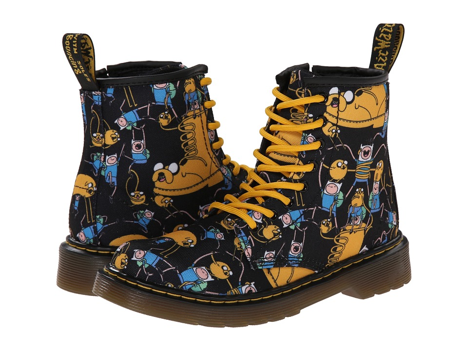 Dr. Martens Kids Collection Adventure Time Delaney Lace Boot Little Kid/Big Kid Multi Character T Canvas Kids Shoes