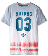 adidas Originals Kids - Good Vibrations Tie-Dye Tee (Little Kids/Big Kids)