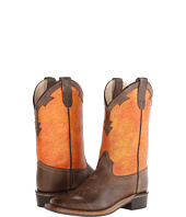 Old West Kids Boots - Broad Square Toe Goodyear Welted Boots (Toddler/Little Kid)