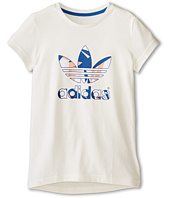 adidas Originals Kids - Good Vibrations Logo Tee (Little Kids/Big Kids)