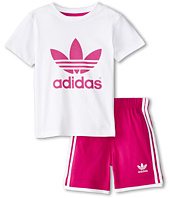 adidas Originals Kids - Trefoil Tee/Short Set (Infant/Toddler)