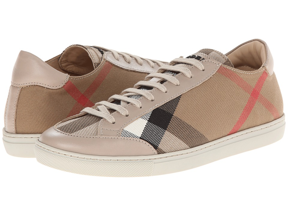 Burberry Hartfield Light Honey Womens Lace up casual Shoes