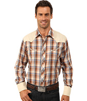 Roper - 9742 Multi Brown Plaid w/ Lurex
