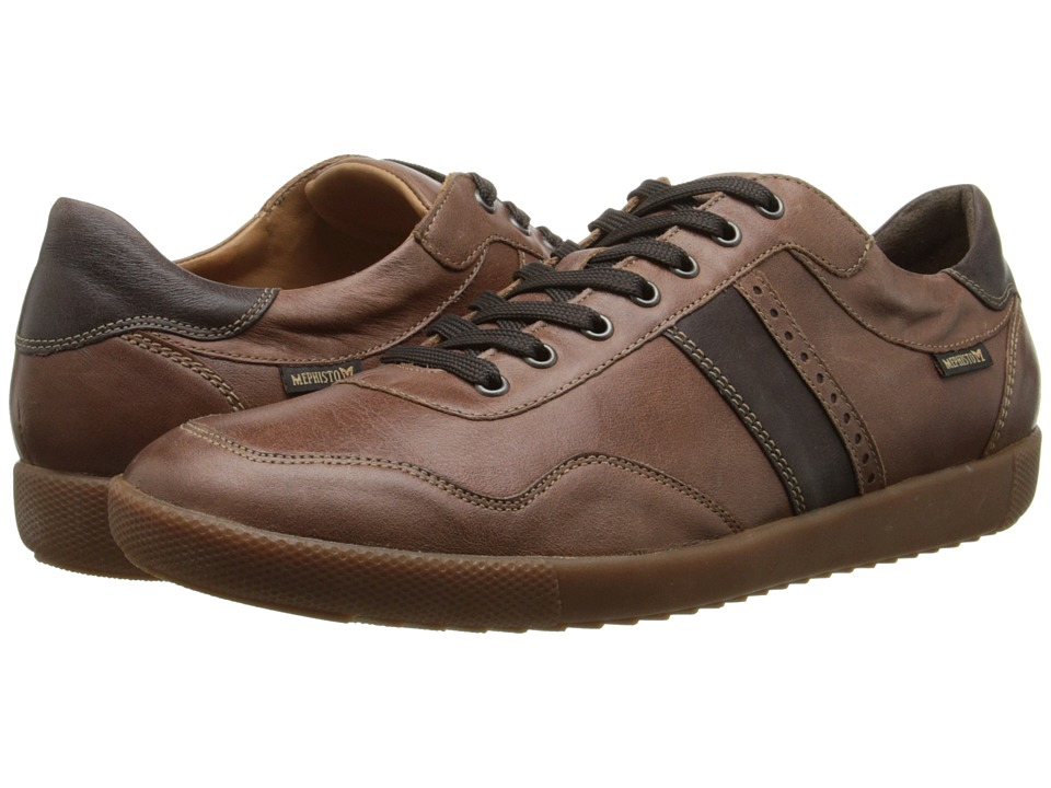 Mephisto Urban Chestnut/Dark Brown Steve Mens Shoes