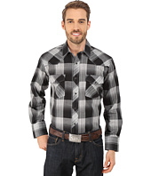 Roper - 9736 Large Black & Grey Plaid
