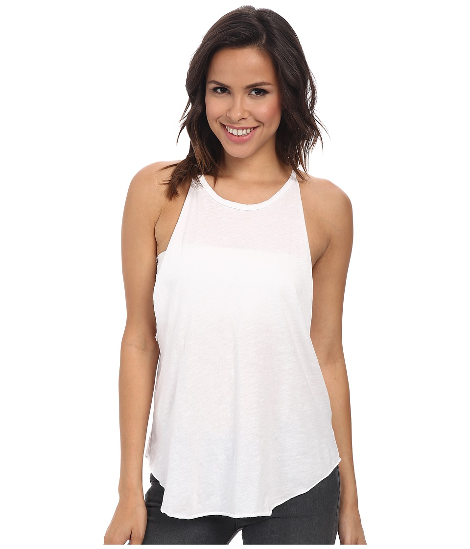 LNA - Bib Tank (White) Womens Sleeveless
