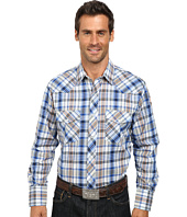 Roper - 9739 Royal w/ Orange Plaid