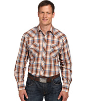 Roper - 9742 Big & Tall Multi Brown Plaid w/ Lurex