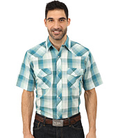 Roper - 9735 Green & Blue Plaid w/ Lurex