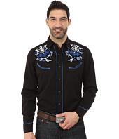 Roper - 65P/35R Twill w/ Multi Swirl Embroidery