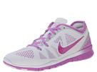Nike Free 5.0 Tr Fit 5 Breathe (White/Fuchsia Glow/Fuchsia Flash)