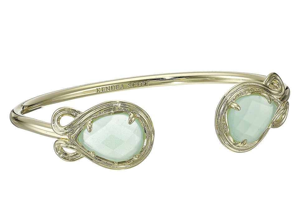 Kendra Scott Andy Bracelet Gold/Chalcedony Bracelet